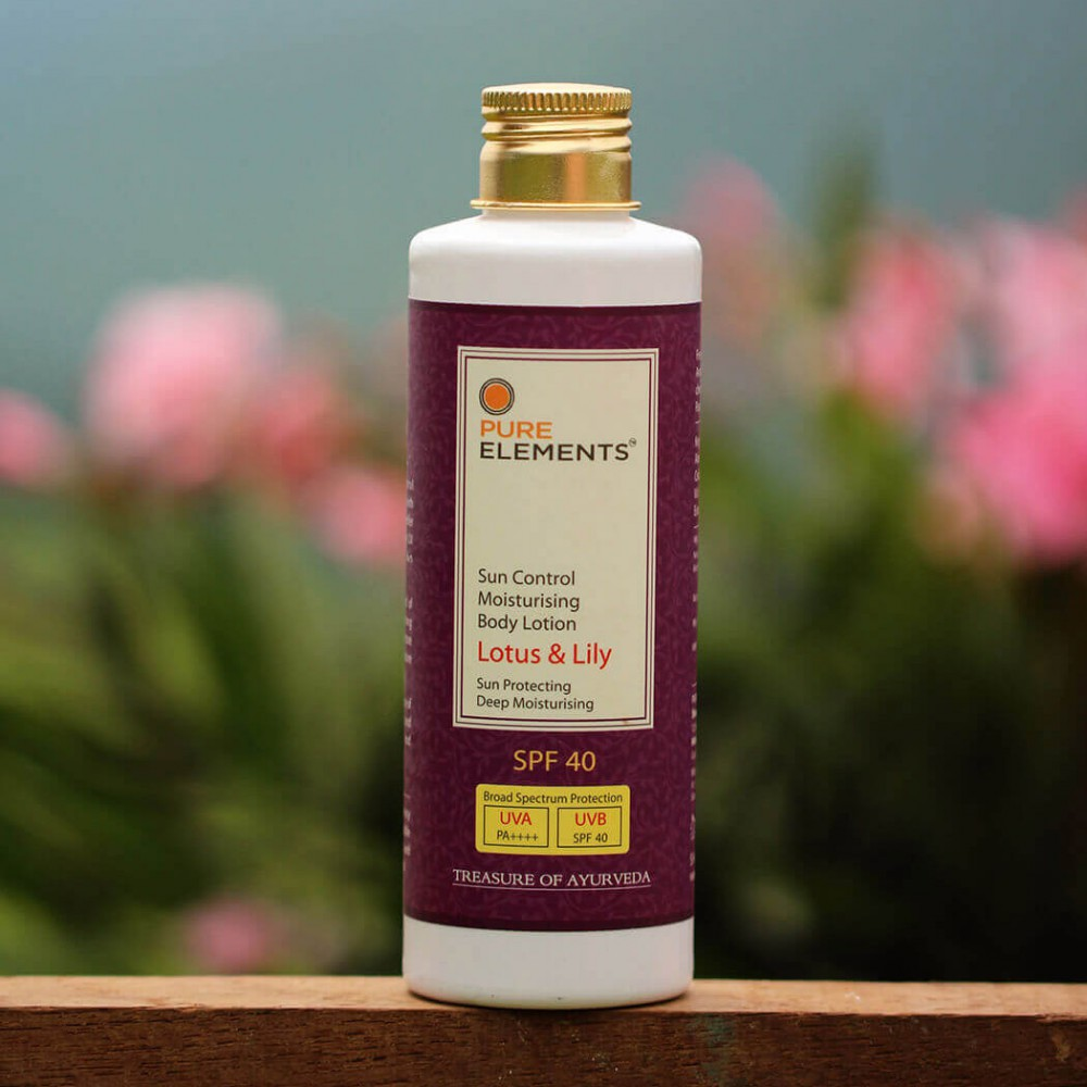Lotus & Lily Sun Control Moisturising Body Lotion