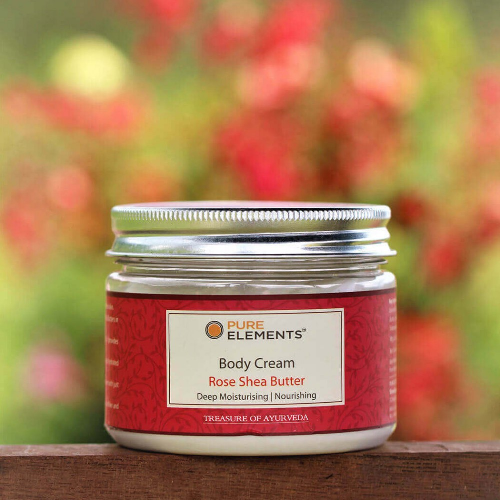 Rose Shea Butter Body Cream