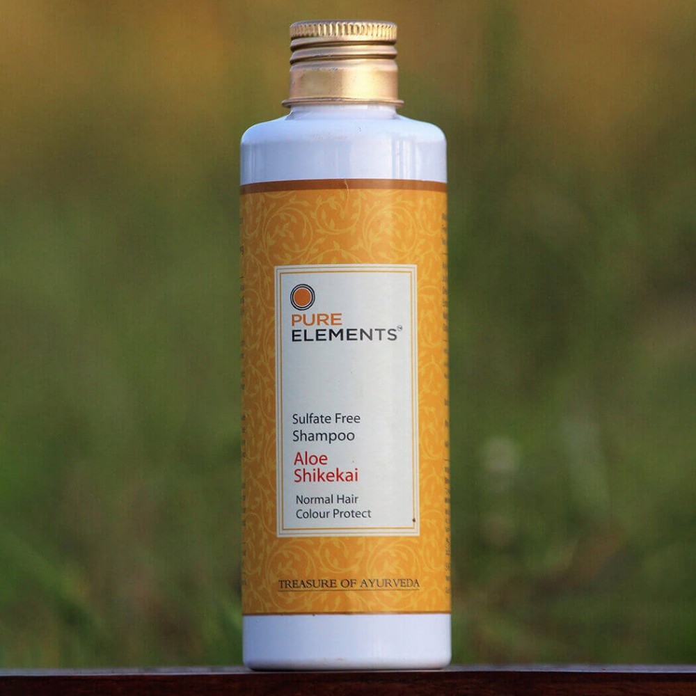 Aloe Shikekai sulfate free shampoo