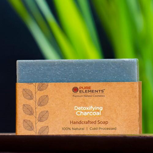 Detoxifying Charcoal Handmade Soap
