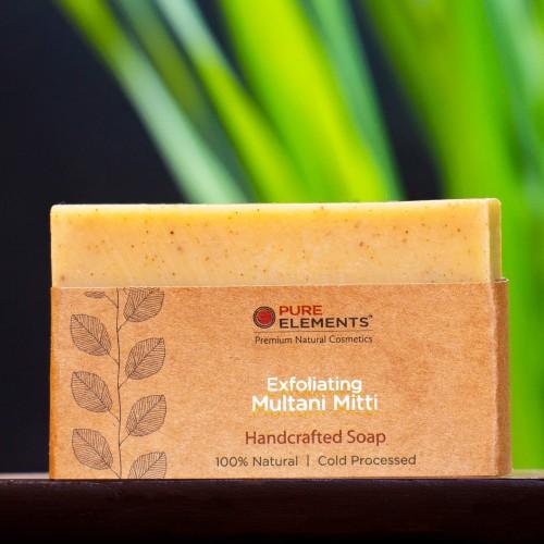 Exfoliating Multani Mitti Handmade Soap