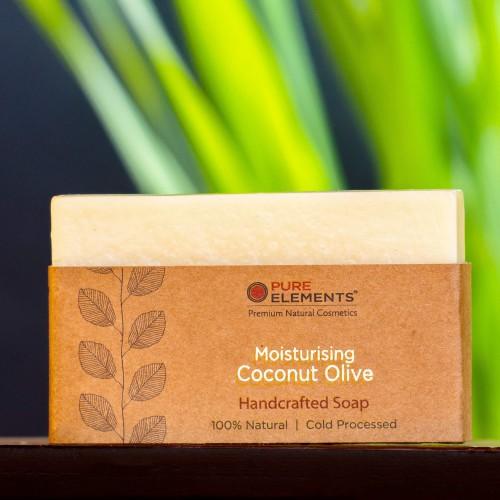 Moisturising Coconut Olive Handmade Soap