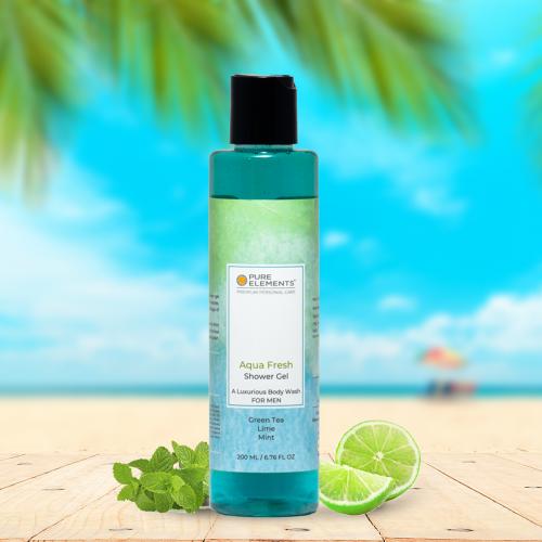 Aqua Fresh Shower Gel for MEN