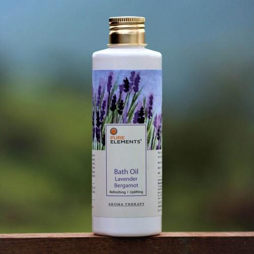 Lavender Bergamot Bath Oil