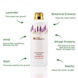 Lavender Basil Deep Cleansing Shampoo