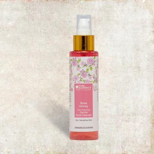 Rose Honey Non-Foaming Gentle Face Cleanser