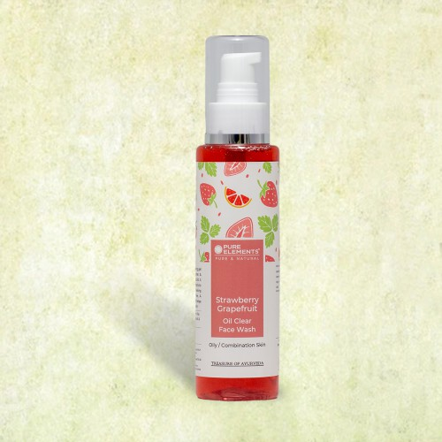 Strawberry Grapefruit Oil Clear Face Wash