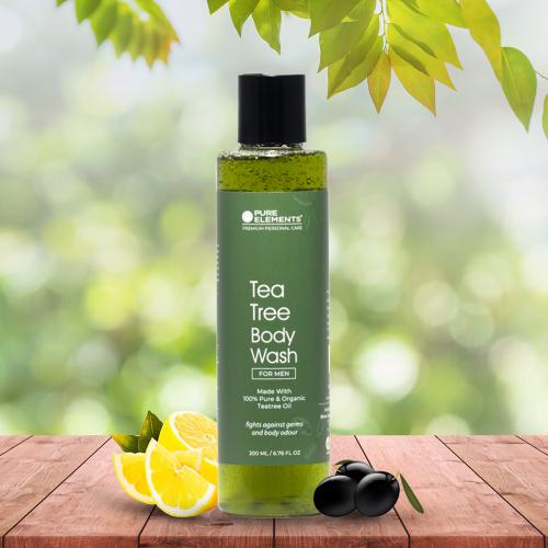 Tea Tree Body Wash for MEN