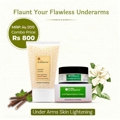 Under Arms Skin Lightening